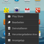 Samsung Galaxy S3 – Reordenar iconos en la pantalla de inicio