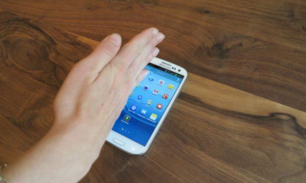 """Realizar una captura de pantalla """"desplazando la palma de la mano"""" con Android 4.0 y Samsung Galaxy S3"""