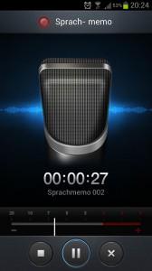 Samsung Galaxy S3 - Sprachmemo aufnehmen mit Galaxy S3