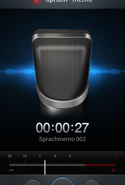 Samsung Galaxy S3 – Sprachmemo 3GA als mp3