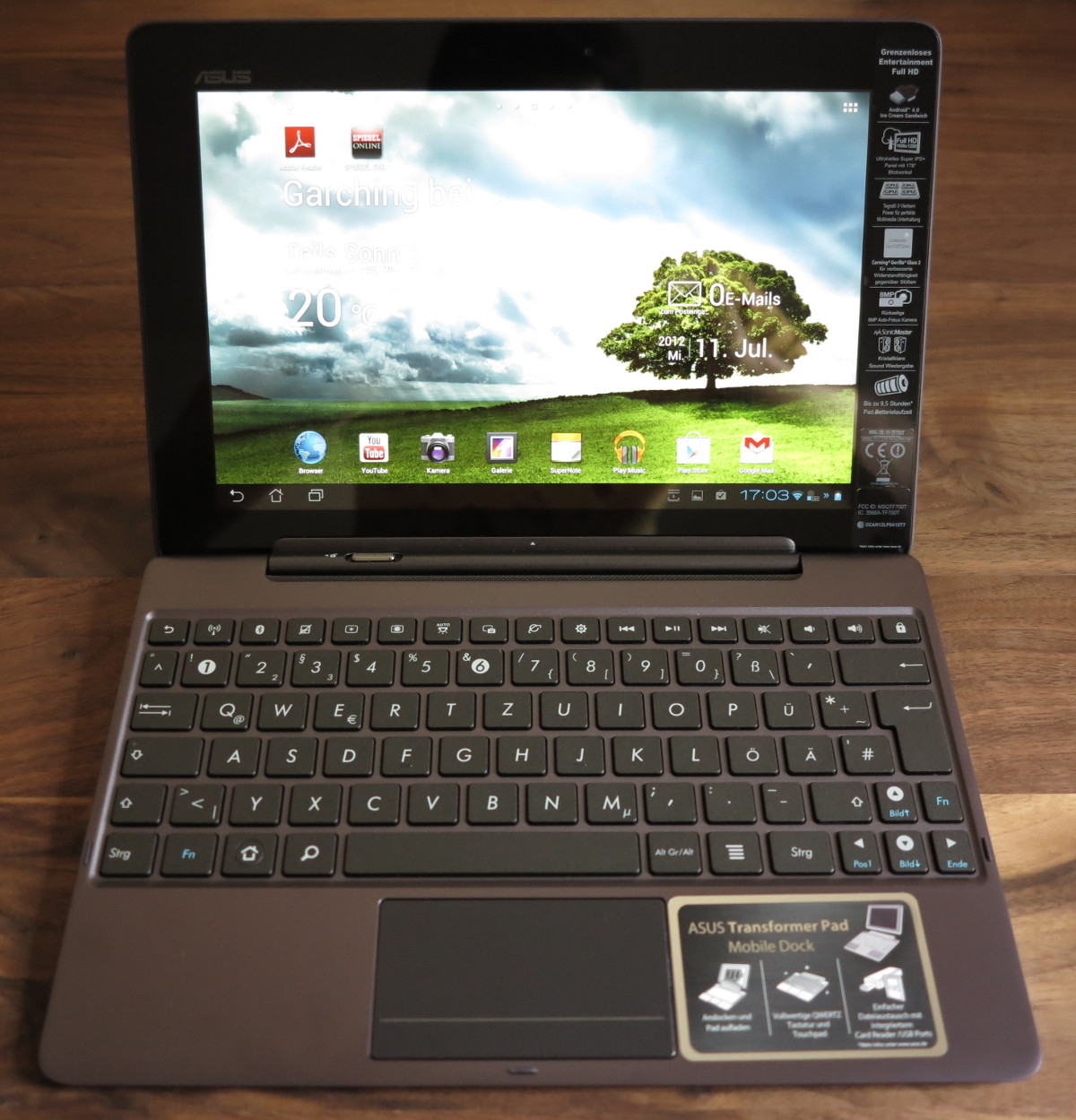 Asus transformer tablet coupons