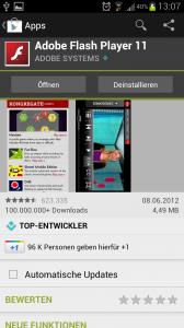 Automatische Updates einzelner Apps