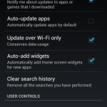 Samsung Galaxy S3 - deactivate auto update apps