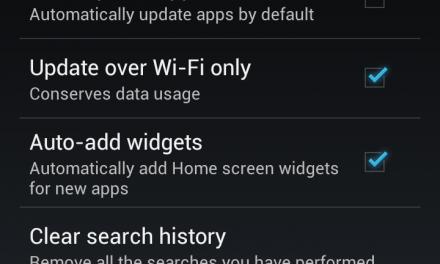 Samsung Galaxy S3 – deactivate auto update apps