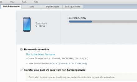 Samsung Galaxy S3 Kies Synchronisation mit Outlook
