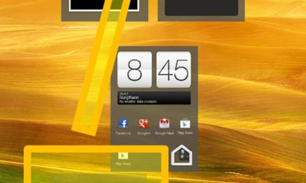 HTC ONE X – Homescreen settings