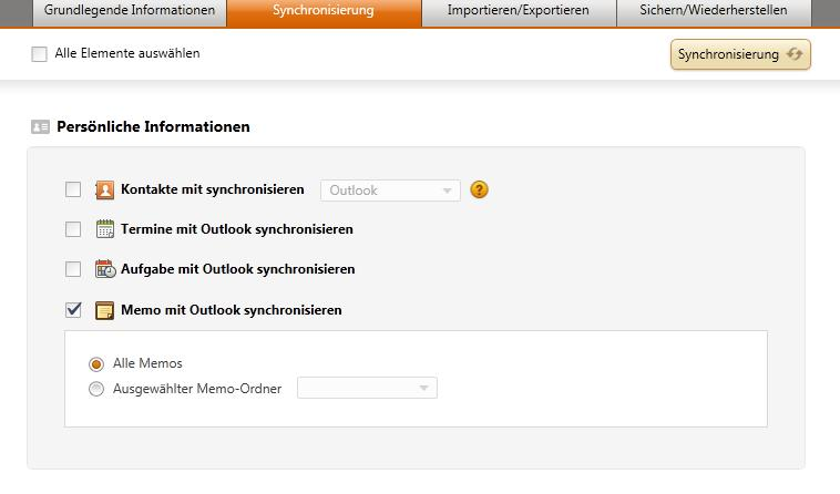Outlook Notizen mit Samsung Galaxy Ace 2 synchronisieren - BlogYourEarth