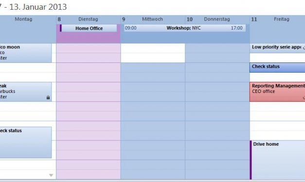 Outlook Kalender und Termine mit Samsung Galaxy Ace 2 synchronisieren