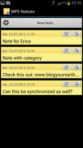MyPhoneExplorer notes
