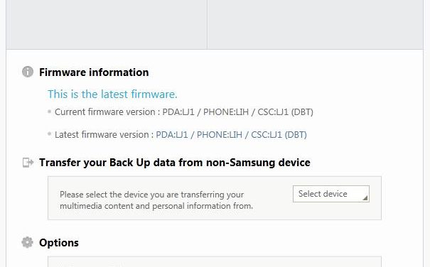 Sync outlook contacts with Samsung Galaxy Note 2 using Samsung Kies