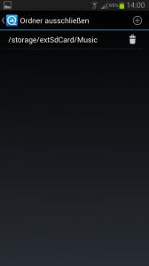 QuickPic Ordner ausschließen von externer SD Karte