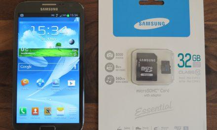 Google Nexus-Serie ohne microSD-Kartenslot