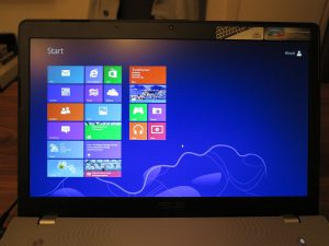 Asus N76VJ Windows 8 new installation