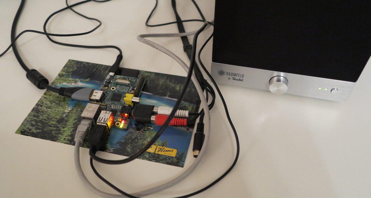 Teufel Raumfeld – Raspberry Pi – Audio Streaming Vergleich