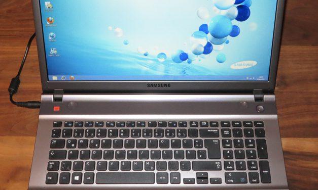 Samsung Serie 5 550P7C S0E Notebook – Testbericht 2 – 2