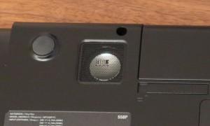 Samsung Serie 5 550P7C S0E - JBL Subwoofer