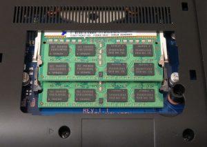 Samsung Serie 5 550P7C S0E - SODIMM Speicher