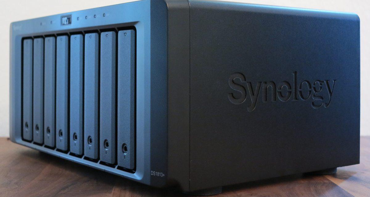 Synology® veröffentlicht die DiskStation DS1813+