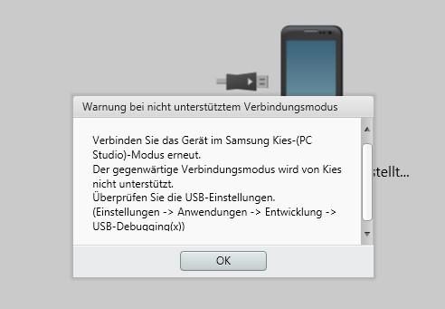 Samsung Mediengerät Mtp Einstellen
