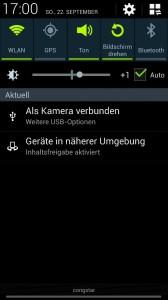 Samsung Galaxy S4 - Weitere USB-Optionen