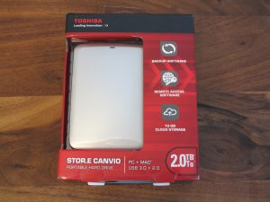 Toshiba - STOR E CANVIO externe-Festplatte 2TB