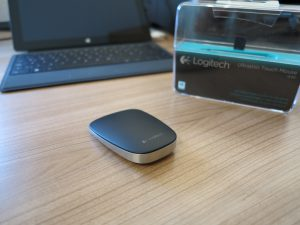 Logitech - Ultrathin Touch Mouse t630