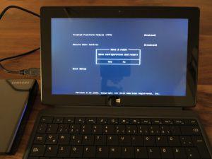 Surface Pro 2 - Ubuntu Linux installieren