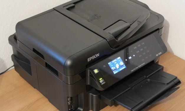 Epson WorkForce WF-3520 DWF Multifunktionsgerät – Testbericht