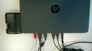 HP 840 G1 Elitebook - Dockingstation