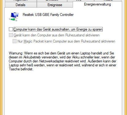 Windows Problem – Nicht identifiziertes Netzwerk – Kein Internetzugriff