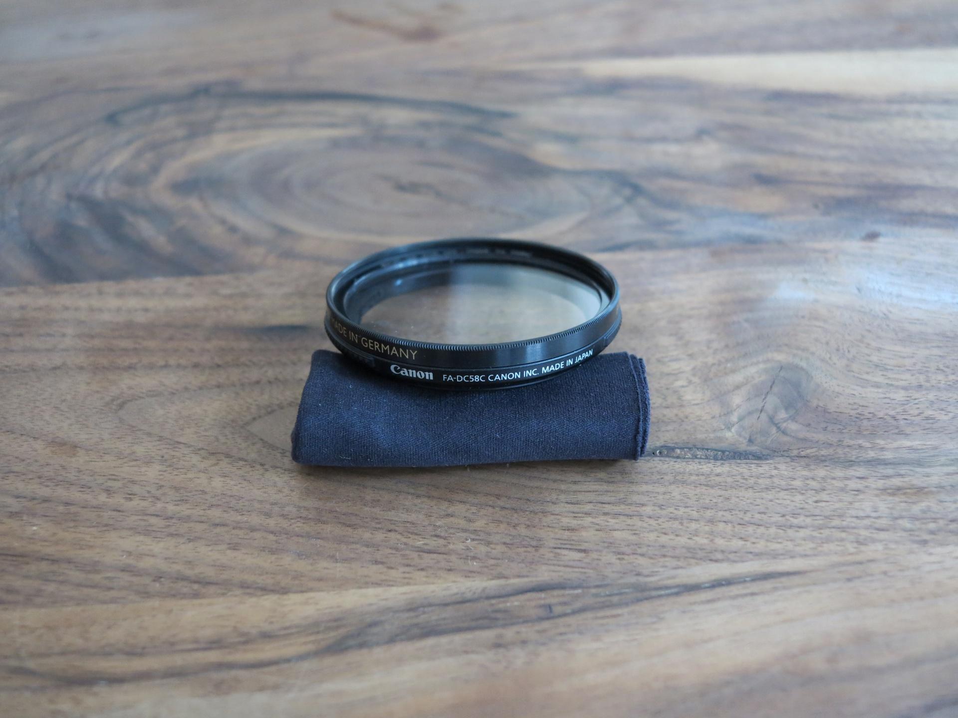 Adapter Ring steckt fest – B&W Filter Filteradapter