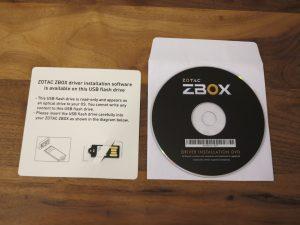 Zotac ZBOX CI540 NANO Barebone-PC 8