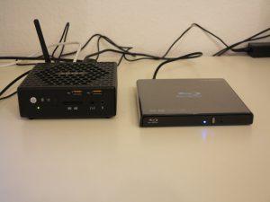 Zotac ZBOX CI540 NANO Barebone-PC 9