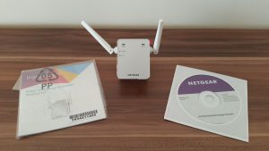 NETGEAR EX2700-100PES N300 Universal WLAN Range Repeater