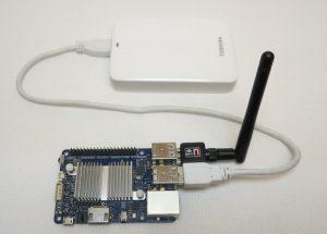 OpenMediaVault Odroid C1 + und Toshiba 2TB HDD