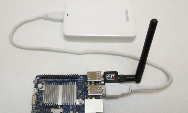 OpenMediaVault als NAS mit einem Odroid C1+