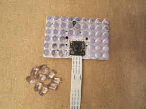 Infrarot Scheinwerfer mit ausgebauten LEDs