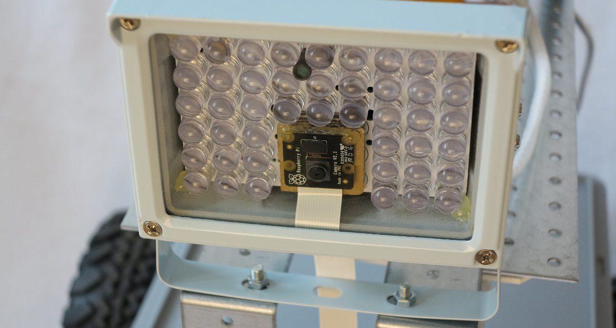 Raspberry Pi wasserdichte Infrarot Überwachungskamera