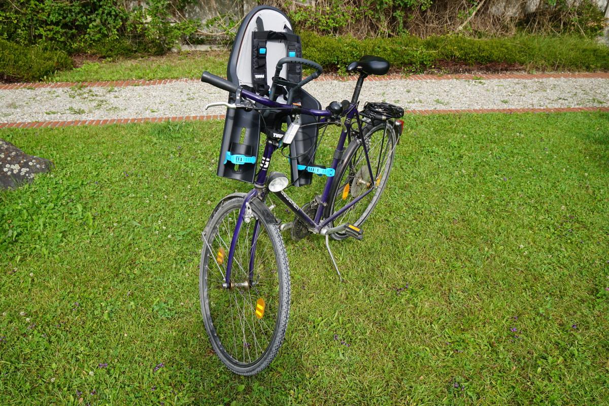 testbericht fahrrad sitz thule baby ride along mini. Black Bedroom Furniture Sets. Home Design Ideas