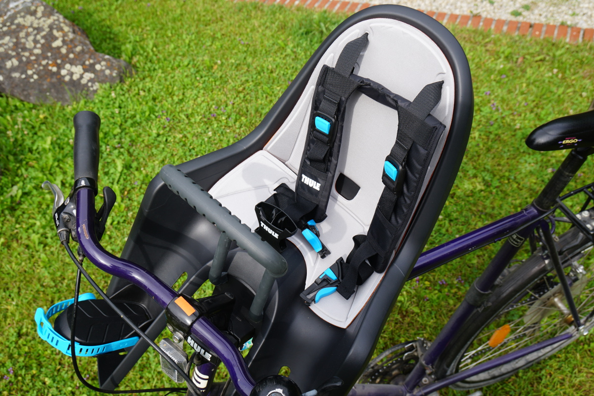 testbericht fahrrad sitz thule baby ride along mini. Black Bedroom Furniture Sets. Home Design Ideas