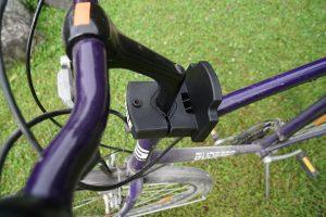Thule RideAlong Mini Fahrrad Kindersitz - Halterung am Lenker