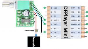 DFPlayer Mini mit Verstaerker