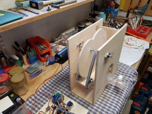 DIY ventilator construction v2 wiper motor details