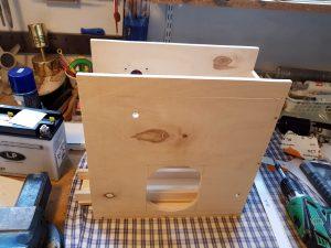 DIY ventilator construction wiper motor case overview