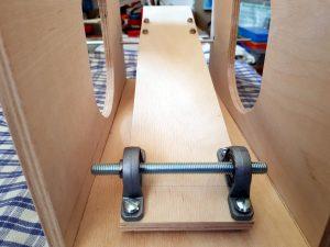 DIY ventilator construction wiper motor ball bearings