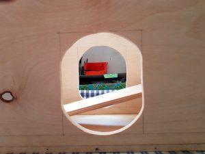 DIY ventilator construction wiper motor case