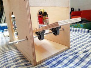 DIY ventilator construction wiper motor construction