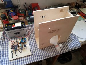 DIY ventilator construction wiper motor AMBU Bag