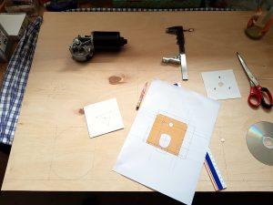 DIY ventilator construction wiper motor start