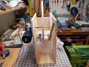 DIY ventilator construction v2 wiper motor mechanic